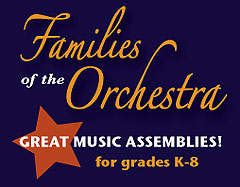Click for more information on the Families of the Orchestra program